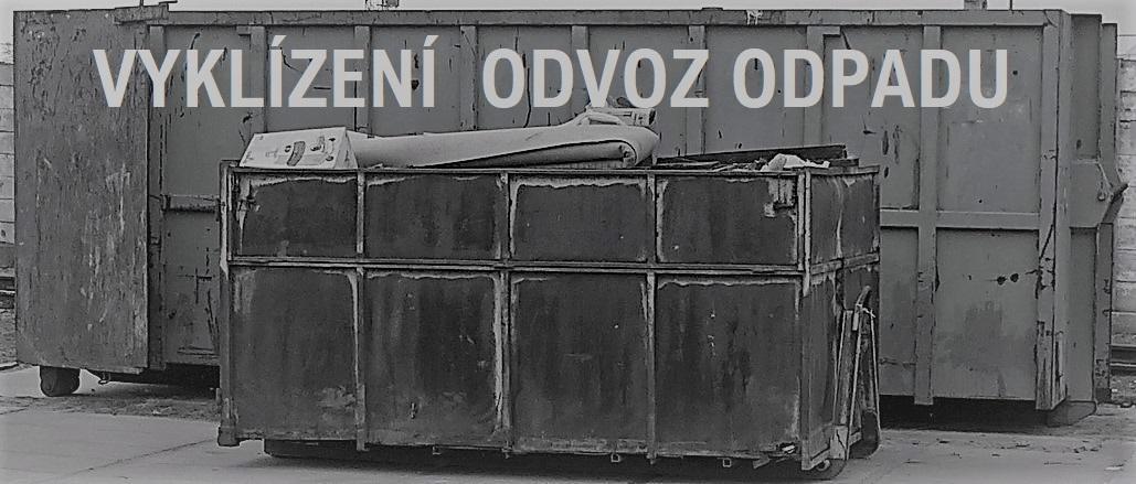 Vyklízení bytů Plzeň, odvoz odpadu